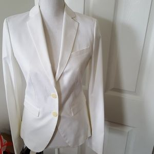 BENETTON WHITE BLAZER JACKET